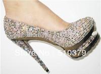 dress high heel pumps brand crystal shoes platform shoes sexy high heels wedding shoes