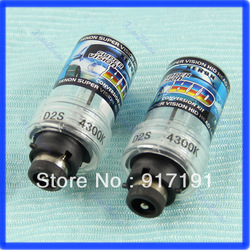 Free Shipping 2pcs 35W D2S 4300K HID Xenon Replacement Light Lamp Bulb Car Headlight Lighting(China (Mainland))