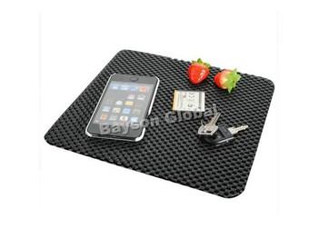 Free Shipping Auto Dashboard Sticky Mat Anti Non Slip Dash Pad Car Mobile Cell Phone Black @15759