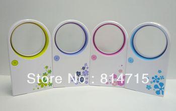 New Bladeless Air Condition Portable Refrigeration Fans USB Desktop Fan