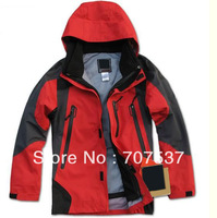 Mountaineering jacket, Technical Waterproof Garment, 2-pieces Hunting and Camping coat-N004
