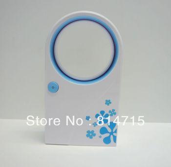 USB & Battery Mini Bladeless Fan No leaf Air-condition Fan