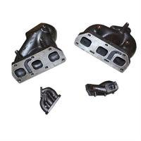 VW Golf Jetta VAG V6 R32 T25 T28 Cast Twin Turbo Manifold T25 Flange