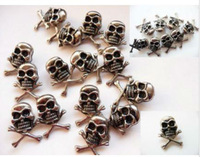 100PCS/lot 1.5cm Skull Metal Spike Studs Rivet Punk Bag Belt Leathercraft DIY Free Shipping