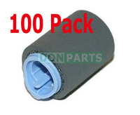 Free Shipping 100 pack Pickup Roller Tray 2 3 for HP LaserJet 4200 4250 4300 4350 P4014 P4015 Feed Roller RM1-0037