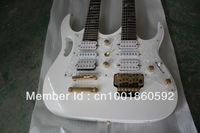 Double electric guitar 6 + 12 6 + 6 white may make to order three head tree of life refers to the board