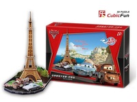 DS0928h free shipping/cars2 3d Model puzzle ,diy kids chriden educational toys children gift,Home Adornment,Paper model
