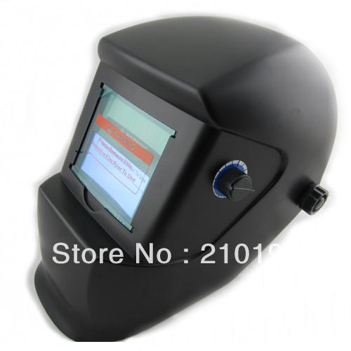 LI battery can be change Solar auto darkening filter welding helmet/eye mask for MIG MAG CT TIG KR welding and plasma cutter(China (Mainland))