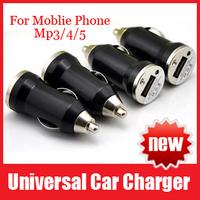 Mini Universal USB Car Charger for iPhone 4s iPod iPad HTC Samsung For Blackberry Nokia Motorola