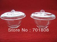 small quartz crucible with lid  6pcs total USD100