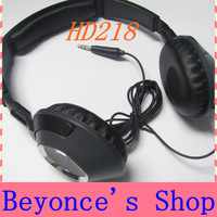 Hot Sale HD218 DJ Stereo Light weight HD-218 on-ear headset headphones Dropship Freeshipping