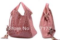 CPAM FREE SHIPPING  2013 hot Fashion PU Leather women's PINK bags Handbag Shoulder bag Satchel tote Bag