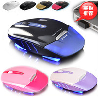 Ems136 lighting notebook wireless mouse smart adjustable