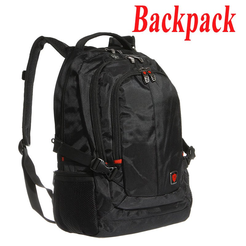 "New Fashion 15"" Laptop Backpack Shoulders Bag for Macbook Notebook Computer Accessories Black Free Drop shipping Wholesale(China (Mainland))"