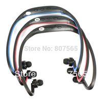 New USB Ear loop Headphones Earphones FM Sport MP3 Player With TF Slot