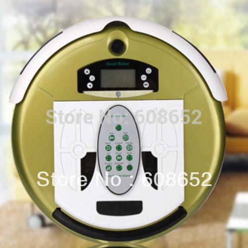 FA-760 intelligent cleaning robot intelligent vacuum cleaner mini slim Sweeper(China (Mainland))