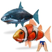 2PCS inflatable toy remote control air flying shark peix fish swimming in the air like S107G s107 Helicopter