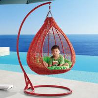 Rattan outdoor rattan hanging basket rattan rocking chair bird nest hanging basket hanging chair indoor swing balcony chair
