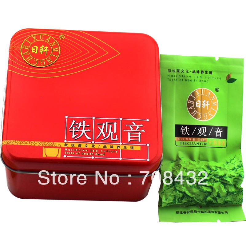 New10pcs /box Chinese High Mountain Tieguanyin Wulong Oolong Tea 70g Tie Guan Yin No Sugar(China (Mainland))