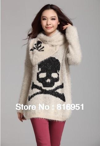 ABC Knitting Patterns - Top Down V-Neck Raglan Sweater .