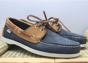New designer casual boat shoes mens dress shoes genuine leather sneakers for men