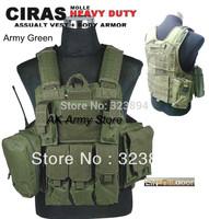 Molle Combat Strike Plate Carrier CIRAS Vest