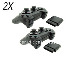 Free shipping, Wireless Gamepad Joypad Controller for Sony Playstation 2 PS2(China (Mainland))