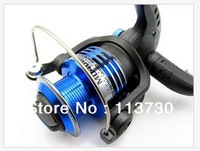 Free shipping New High quality 6 BB High Power Gear Spinning Aluminum Spool Light Fishing Reel MD4000