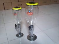 beer tower beer cooler with inner ice bank