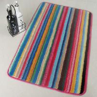 Wear-resistant waste-absorbing economical doormat bar mats slip-resistant pad carpet 50*80CM