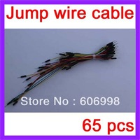 10set/lot, 650pcs/lot Jump Wire Cable Male to Male Jumper Wire for Arduino Breadboard, Free Shipping