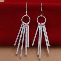 Lose money Promotion! Wholesale 925 silver earrings, 925 silver fashion jewelry, Five Post Earrings E026