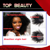 "Free shipping, swiss lace 4""*4"" top closure hair virgin brazilian hair curly #1 8""-26"" lace top closure"