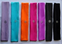 Free shippng, Wholesale Cheap Lululemon Yoga Headbands Headwear for Girls and Women, 8pcs/lot. Mixed color or One color is OK