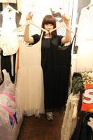 Lacegirl  autumn and winter lace gauze modal basic long design spaghetti strap puff tank dress