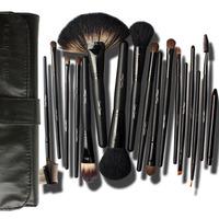 Cosmetic brush cerro qreen natural animal wool 18 black paragraph cosmetic set brush