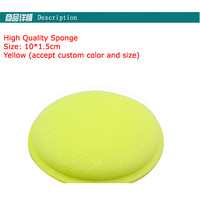 12 Pcs Of Hand Wax Sponge Pad/Buffer pad/Polishing pad