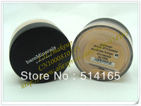 New Loose Powder Bare Minerals BareMinerals Sunscreen Foundation Spf15( MEDIUM BEIGE N20 ) 8g(100 pcs)100pcs free shipping