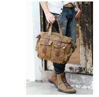 Free Shipping Retro bag practical Mountaineering bag cotton Washed handbag Canvas bag Sports&Leisure bags Unisex KH014