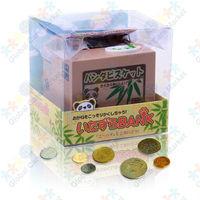 Coin Collecting Panda Bank - Cute Money Saving Bank for Whole Family