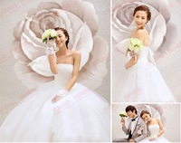 vestido de noiva 2014 158    plus size maternity fashionable sexy pleat lace up   bridal dress wedding dress bride bridal gown