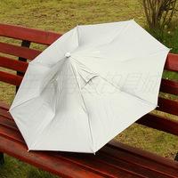 Free shipping outdoor fishing , sun-shading  large anti-uv ultra-light folding umbrella cap fishing tackle fishing supplies