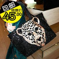 Bags 2013 women's handbag paillette vintage bag one shoulder  m06-131