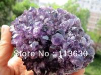 Uruguay Natural Mined AMETHYST Flower QUARTZ Crystal GEODE CLUSTER  560g