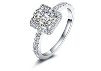 FRlEESHIPPING!! Silver 925 SONA  1.75 Carat   Ladies  silver rings Wedding ring