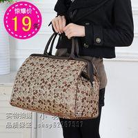 Travel bag large capacity handbag luggage travel bag travel bag waterproof male women's handbag bag MICKEY  lilun