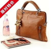 2012 small handbag cross-body dual women's handbag bag briefcase document folder