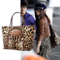 2012 female bags leopard print bag fashion vintage bag handbag