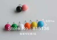 (Min.order is $12) Wholesale 30pairs/lot 2013 new Fashion Cute candy ball Earring for women alloy Stud Earrings jewelry,$0.29/pc