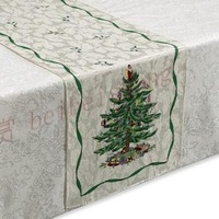 Gift print jacquard quality table runner measurement